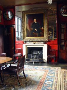 John Soane's Dining Room with portrait