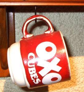 oxo advertising mug