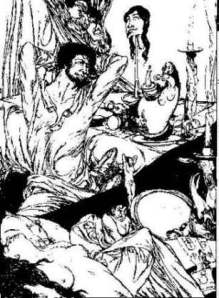 'Existence' from the Book of Satyrs by Austin Osman Spare