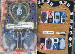 p5-and 6 Altered Book