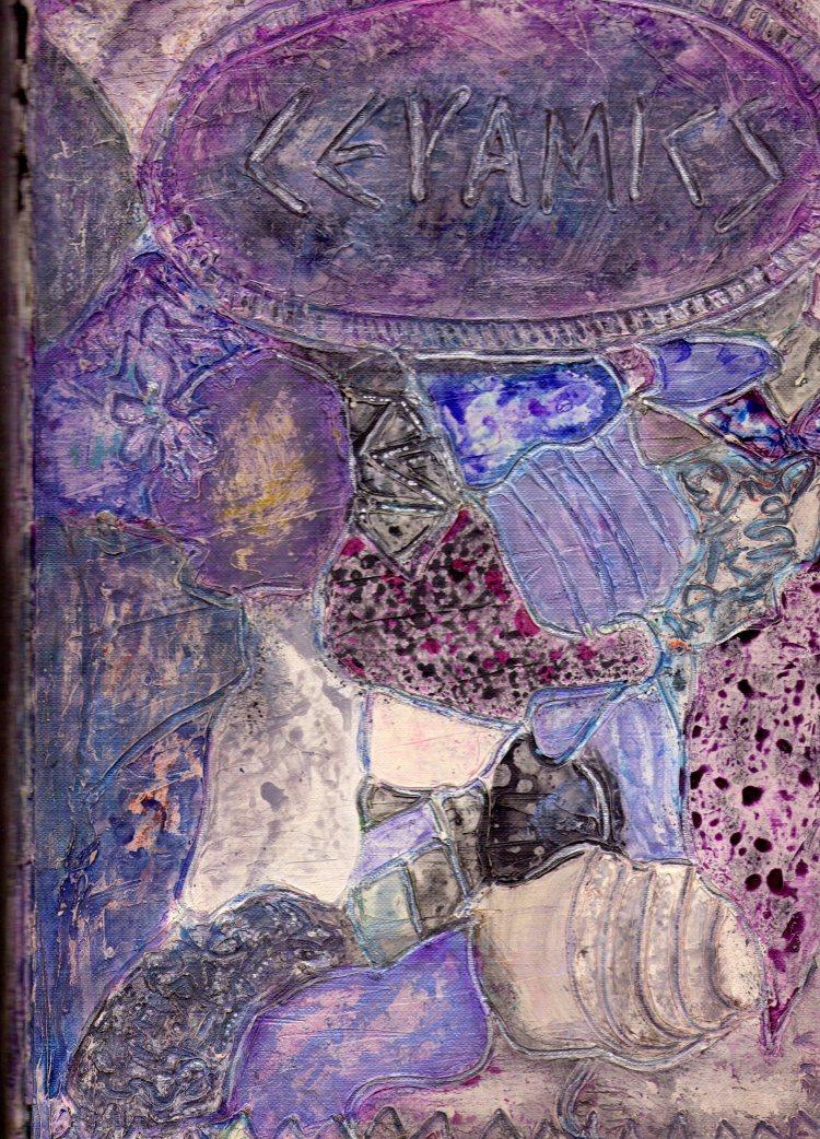 Ceramic journal cover