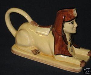 Sphinx teapot by Tony Woods, shhhh its a secret