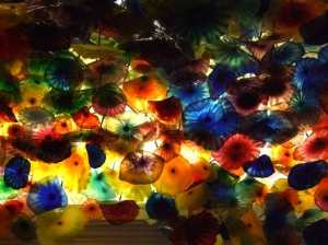 ceiling bellagio, these displays change seasonally, so I've been told