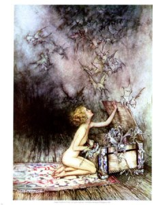 pandoras-box-arthur-rackham...try looking in the bottom of the box