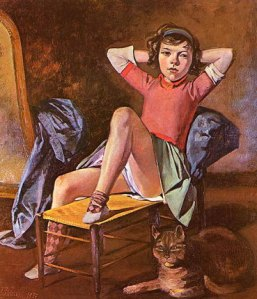 balthus_girl and cat