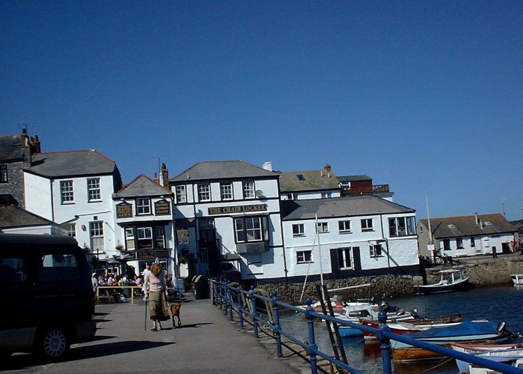 Falmouth, taken a few years ago.  Proof that there is a sun