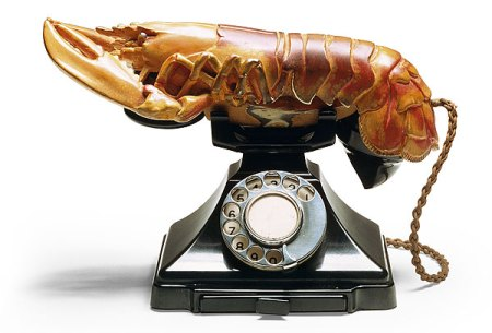 There's something fishy going on with this lobster telephone