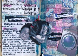 page7 and8 altered art book