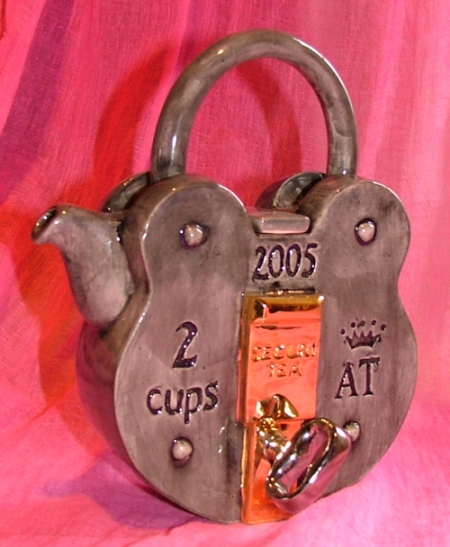 securitea teapot by andy titcomb