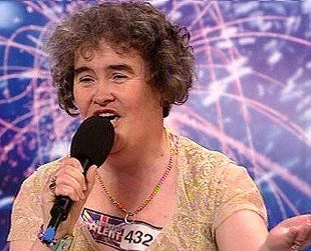 susan-boyle, gracious in defeat, but what a journey she had!