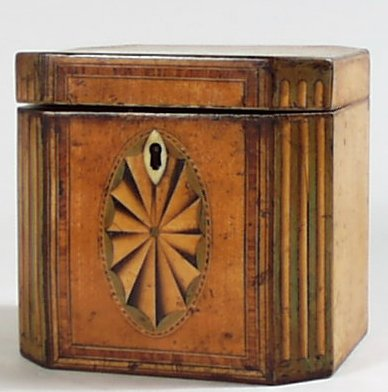 Tea  caddy circa 1790