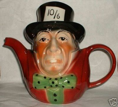 tony woods mad hatter teapot