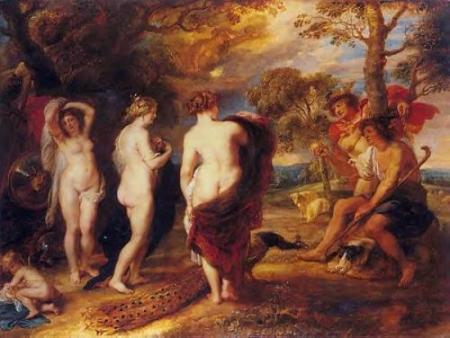 rubens- the judgement-paris