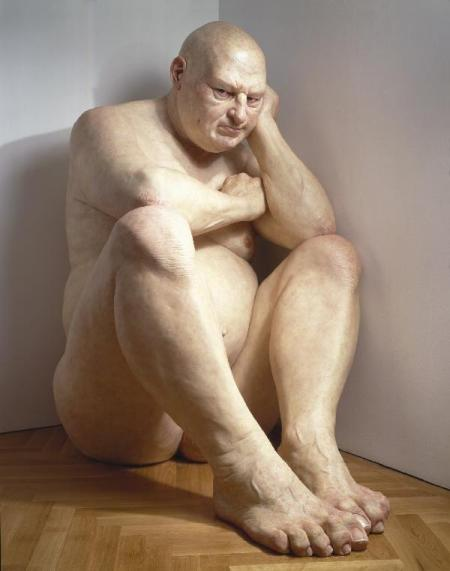 big man by Ron Mueck 2006