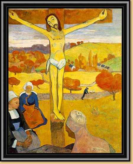 gauguin the yellow Christ