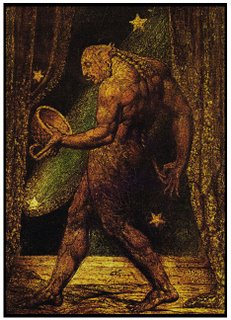 ghost of a flea by William Blake