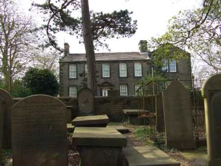 Haworth parsonage and graveyard