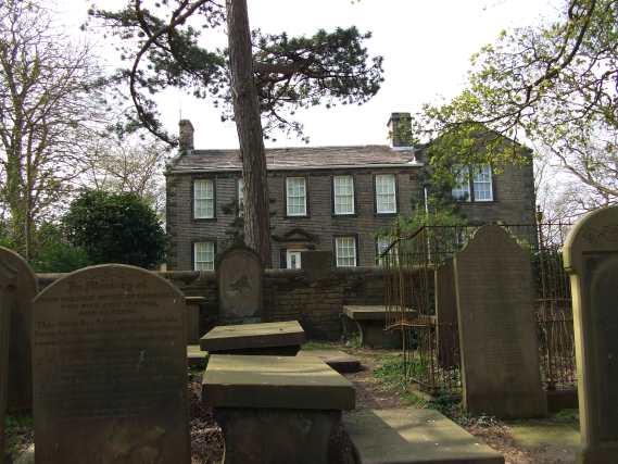 Haworth parsonage and graveyard
