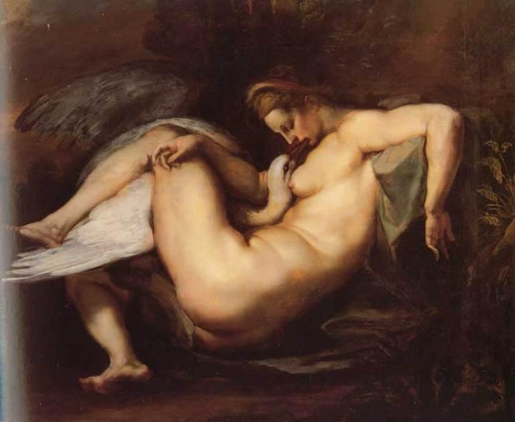 Leda and the Swan Rubens