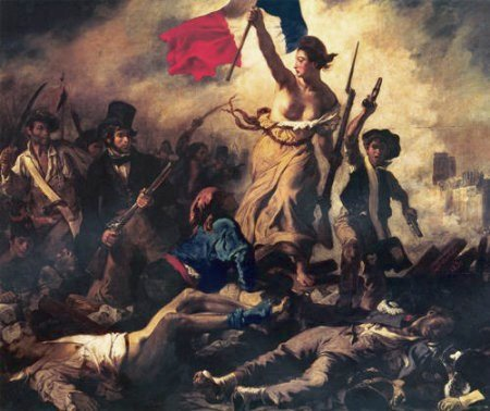 Liberty leading the people delacroix