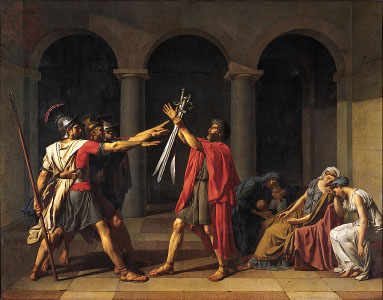 Oath_of_the_Horatii Jaques Louis David