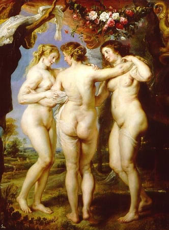 rubens celebrates the flesh