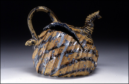 torn open rough rusty_pillow teapot by  ray bub (don'tyou just love the title as well as the teapot!)