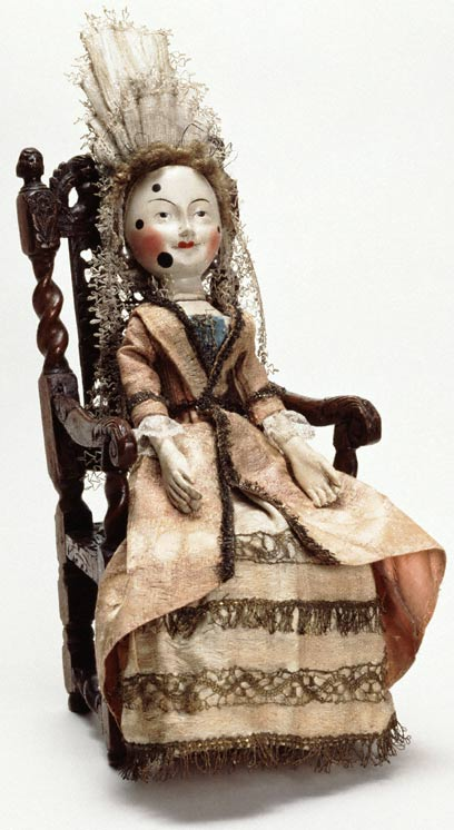wooden doll,1680