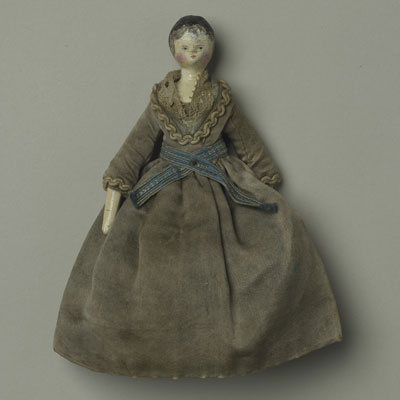 wooden limbed doll late 1700s