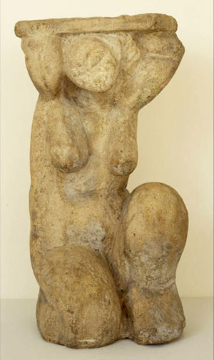 Amedeo-Modigliani sculpture