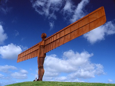 angel_of_the_north, a welcoming sight for the traveller