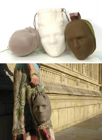 decapitated head bag.......er WHY?