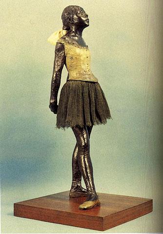 degas Little dancer 14 yrs old
