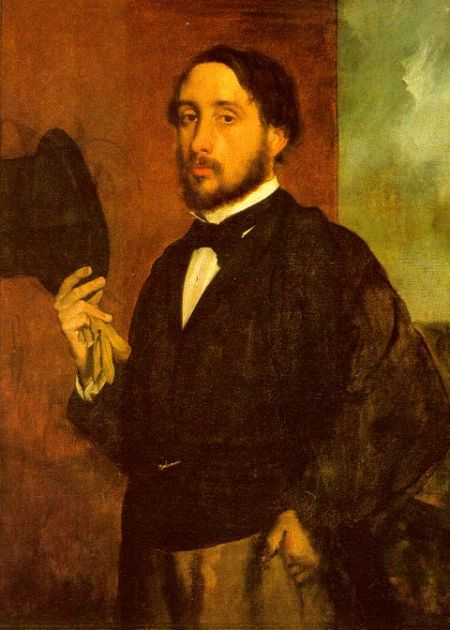 degas self protrait