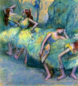 degas was fascinated by the dance