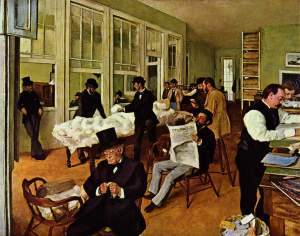 Degas preferred to known as a realist