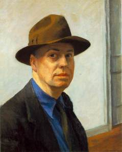 Edward Hopper self portrait