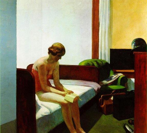 Hotel Room by Hopper 1931