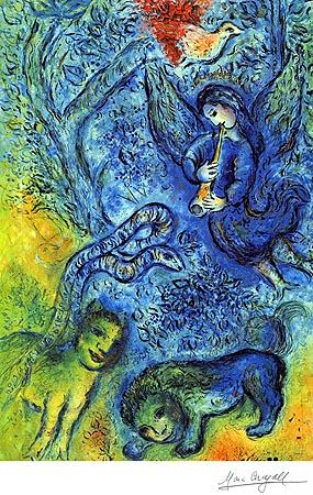 Marc Chagall Magic Flute