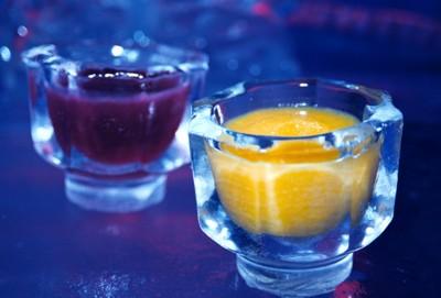 Cool drinks, shaken not stirred