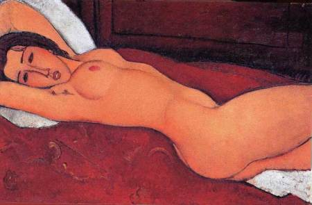 Modigliani, famous for his portraits and nudes