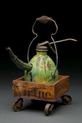teapot show 2008 Joan Rasmussen Junkmans teapot