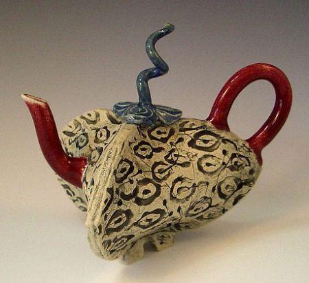 teapots show 2008 alice deLisle Tea  Pod