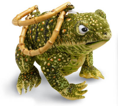 ugly toad purse (free prince offer)
