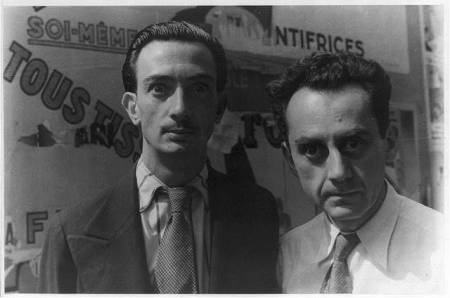 Man Ray with Dali