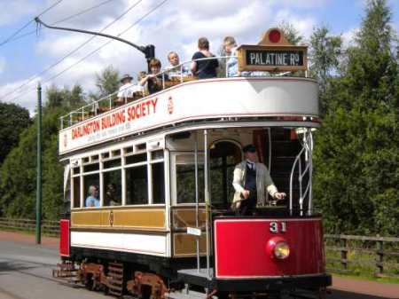 Beamish all aboard!  This is the only way to travel back in time