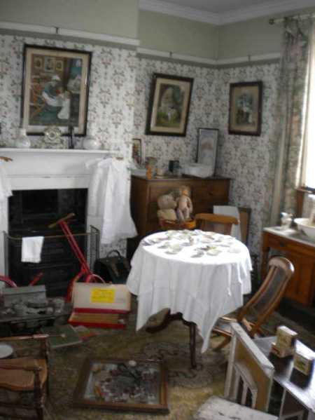 the nursery in Mr Jones house
