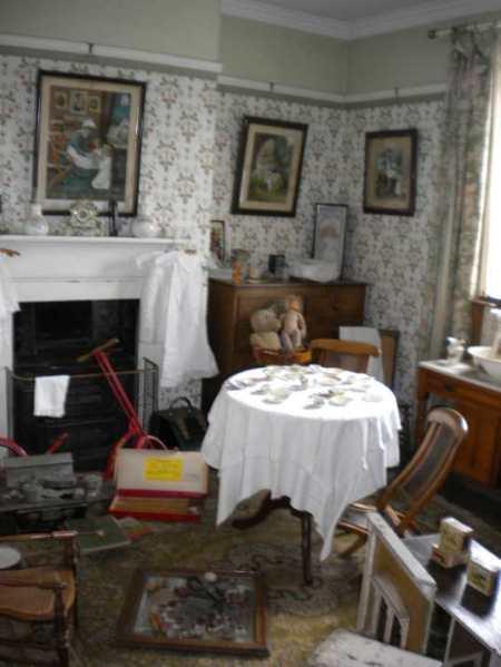 the nursery in Mr Jones house