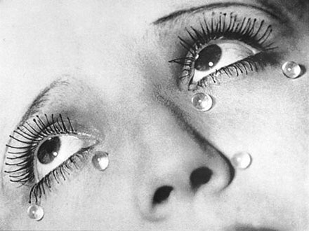 Man Ray glass tears