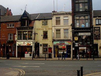The tiny Circus Tavern Portland street Manchester City Centre